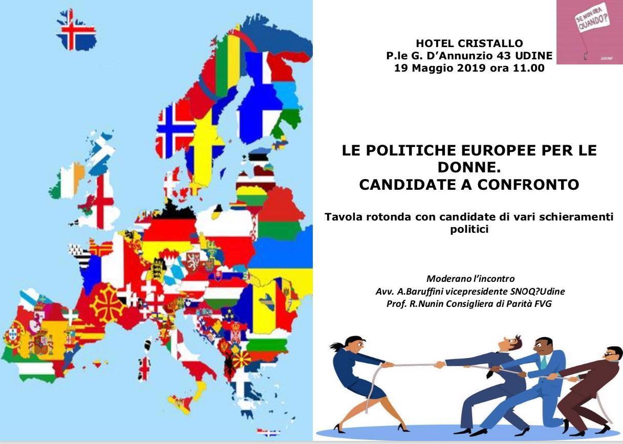 Le politiche Europee per le donne
